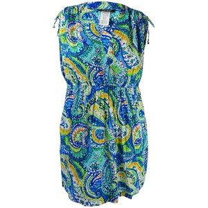 NWT Ralph Lauren Plus Carnivale Paisley Cover Up